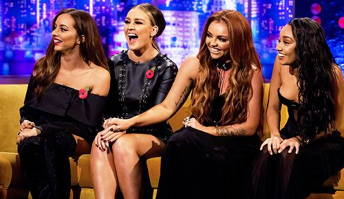 Little Mix on the Jonathan Ross Show.