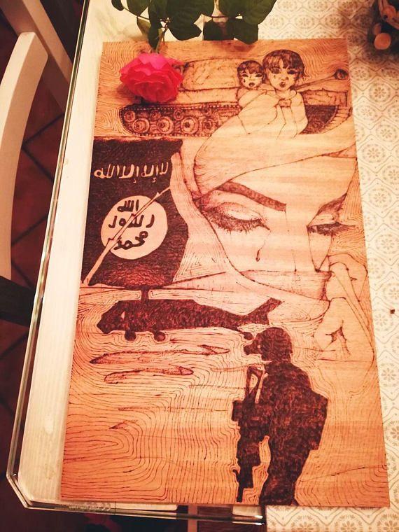 Guarda questo articolo nel mio negozio Etsy https://www.etsy.com/it/listing/546365371/muslim-mother