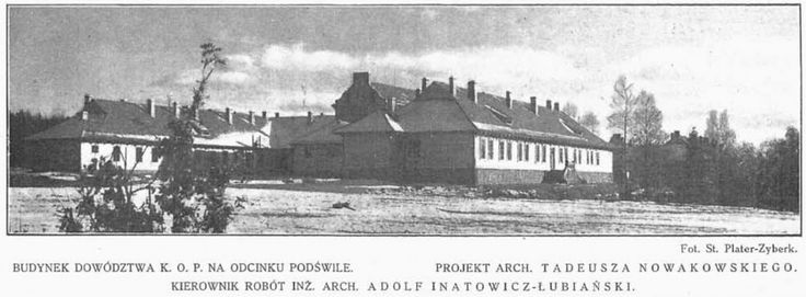 Budynek dowództwa baonu ''Podświle '' z pułku KOP ''Głębokie ''