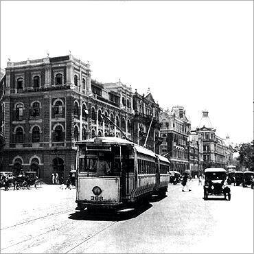 Tram in mumbai