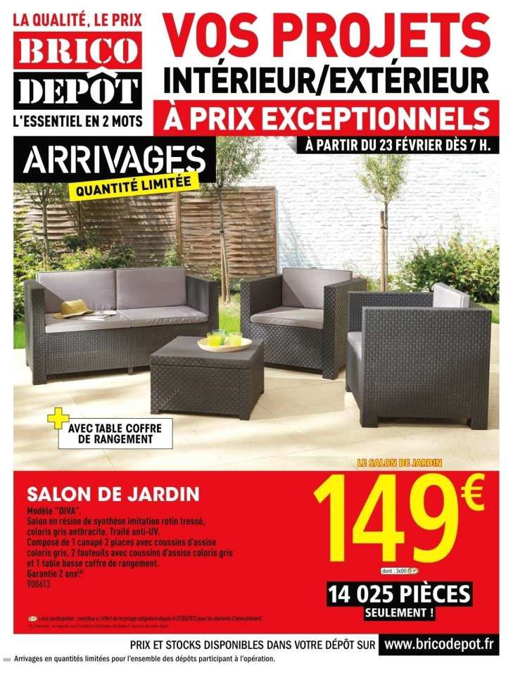 15 Salon De Jardin A Brico Depot Designs De Salon In 2020 With