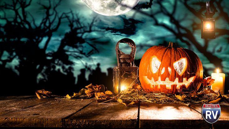 Spooky Halloween Campsite Decoration Contest