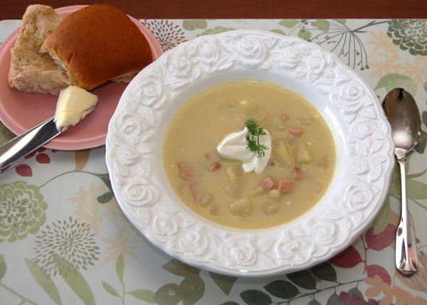 Great easy recipe for Leek and Potato Soup!