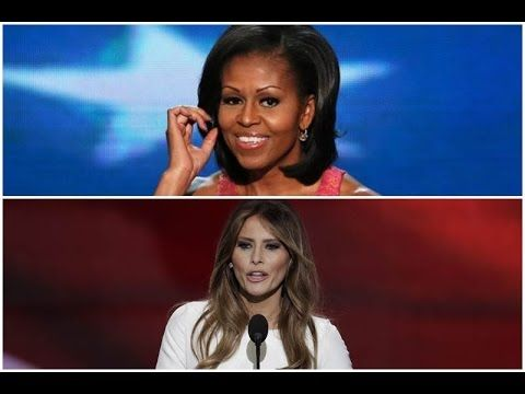 MELINA TRUMP PLAGIARIZED MICHELLE OBAMA  20P8 CONVENTION  SPEECH.