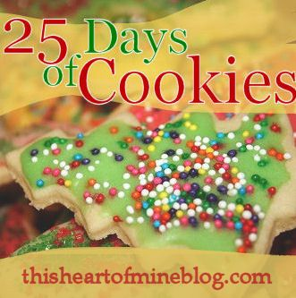 25 Days of Cookies - recipes and decorating ideas for Christmas