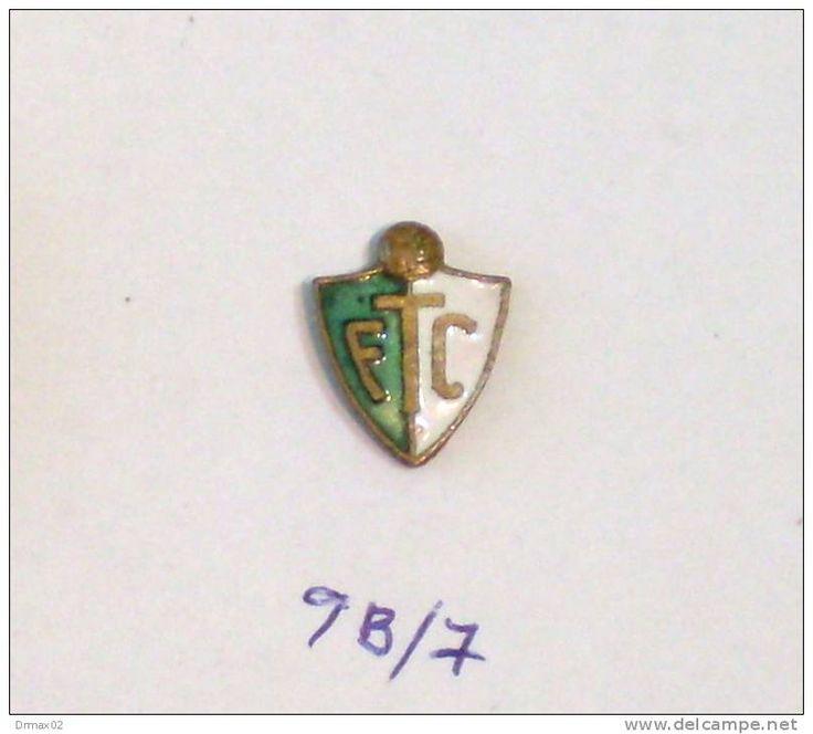 FTC FERENCVAROS - FOOTBALL CLUB F.C. (Hungary Hungría Ungarn Hongrie Ungheria) / metal ENAMEL pin - badge