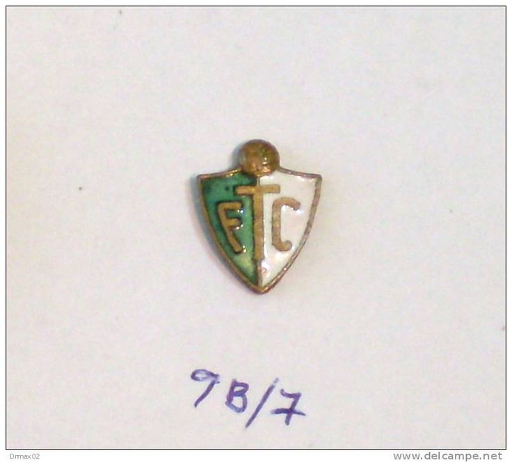 FTC FERENCVAROS - FOOTBALL CLUB F.C. (Hungary Hungría Ungarn Hongrie Ungheria) / metal ENAMEL pin - badge