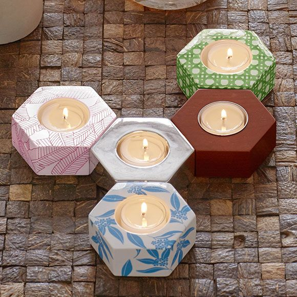 Hexagon Trios! 3 options - find them at http://www.partylite.biz/sites/meghanwagner