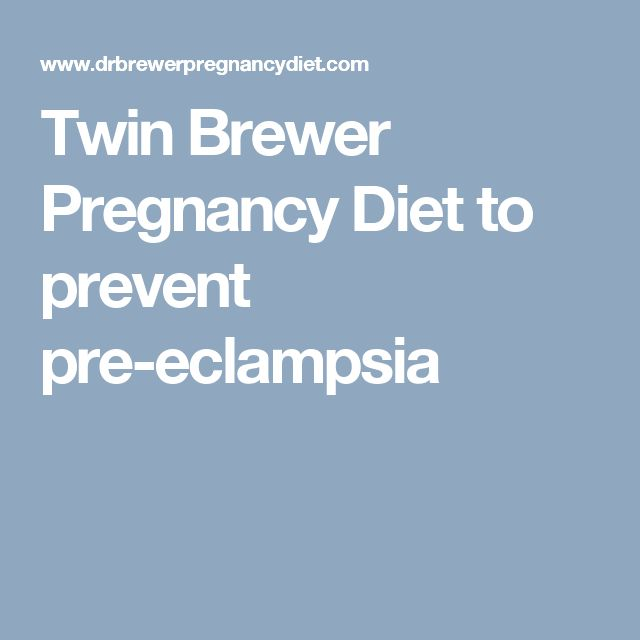 Natural Prevention And Treatment For Pre Eclampsia