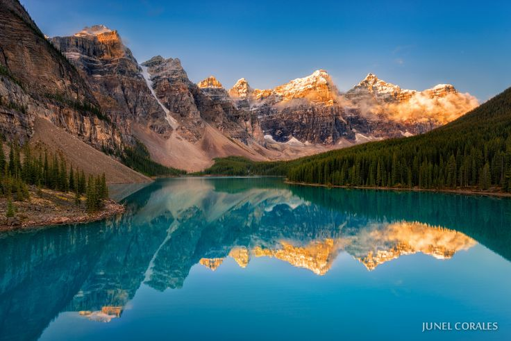 Photograph Moraine Lake Sunrise by Junel Corales on 500px
