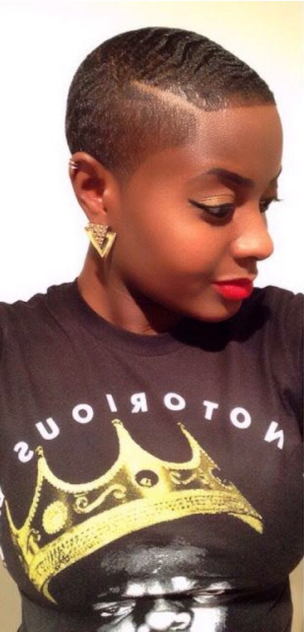 Natural hairstyles for short hair black women hair and tattoos - Find This Pin And More On Short Fades