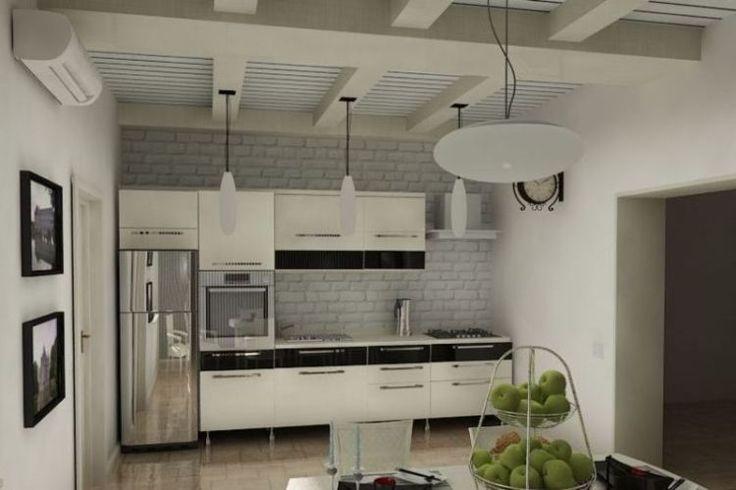 светлая кухня с кирпичной стеной: 23 тыс изображений найдено в Яндекс.Картинках