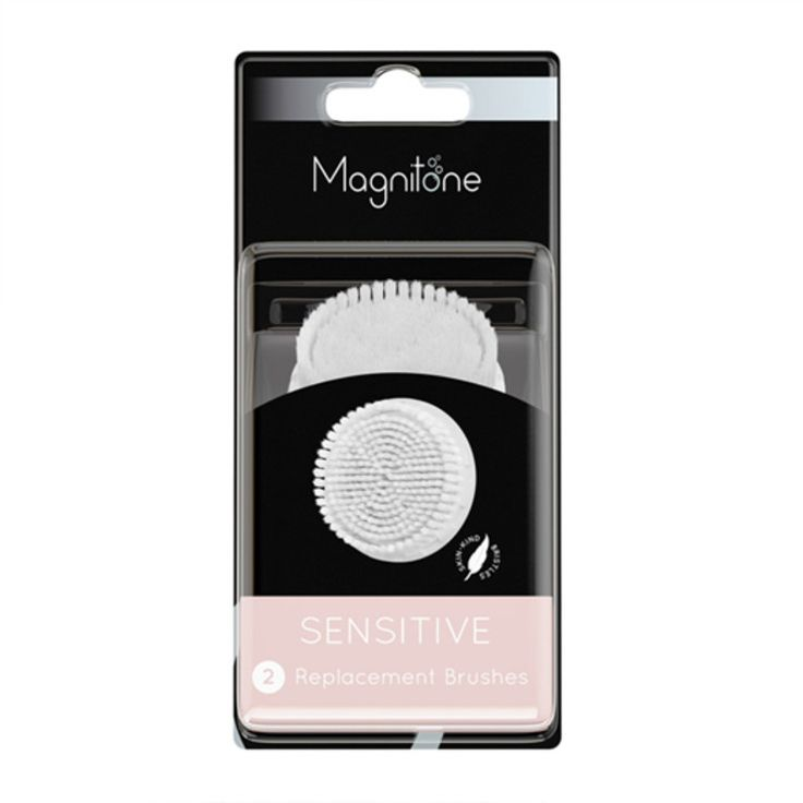 Magnitone Lucid Sensitive Replacement Brushes, £15.99