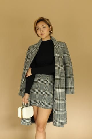 ac9c73692 ASTR The Label Plaid Wool Mini Skirt - Large in 2019 | dear style ...