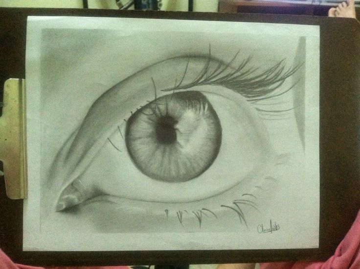 Eye.  By: Claudia Vallejo