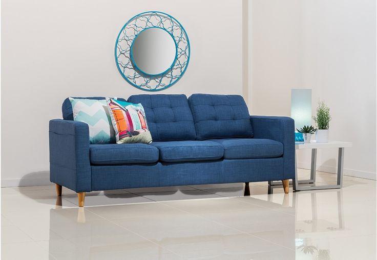 Our new sofa x 2 RETRO - Blue Sofa