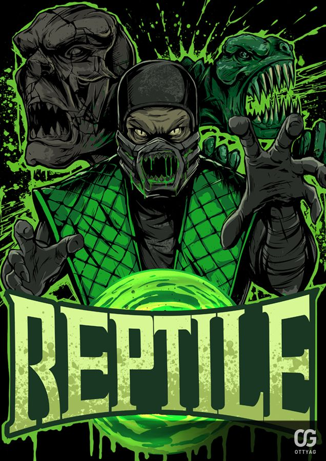REPTILE by Bakerrrr on DeviantArt