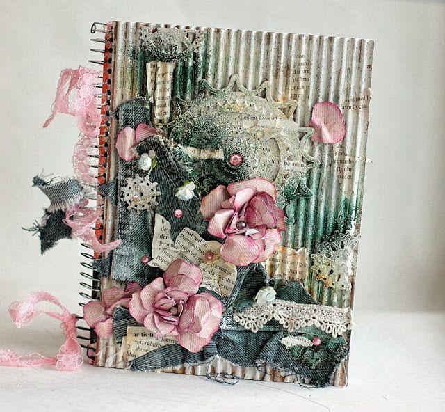 Notebook Cover - Donna Salazar Designs