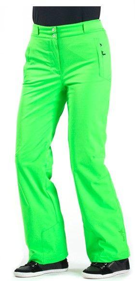 Pantalon de ski femme Stephi Degré 7 vert néon