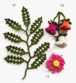 horgolt, horgolás, ingyenes horgolás minta, horgolt virág, horgolt virág leírása, horgolt virág minta, crochet flower pattern