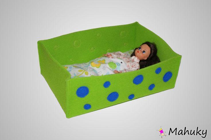 Mahuky - filcowe łóżeczka dla lalek