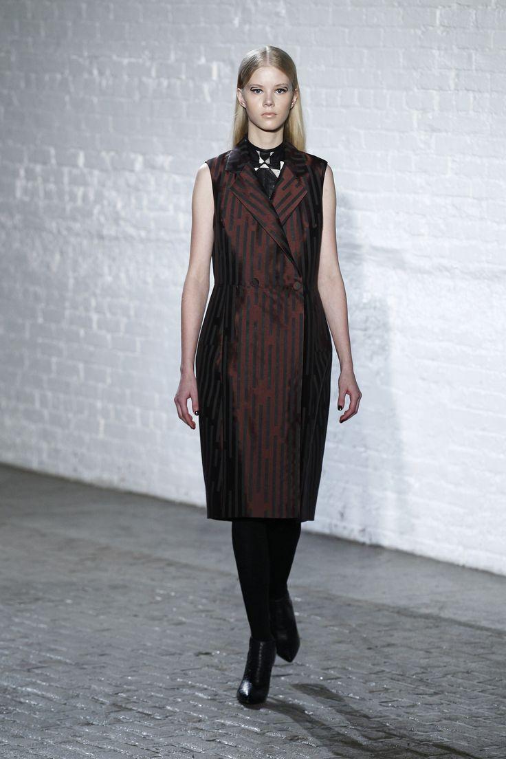 The Broken Line Silk Jacquard Wrap Dress And The Python Patchwork Sleeveless Mock Neck Top