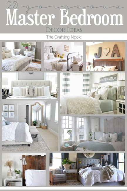 Gorgeous 20 Master Bedroom Decor Ideas