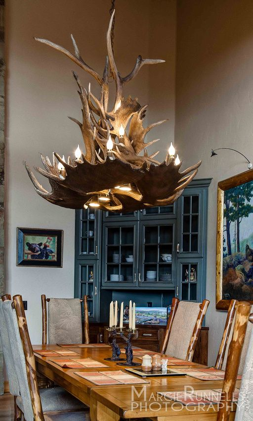 Antler Chandelier By The Peak Company