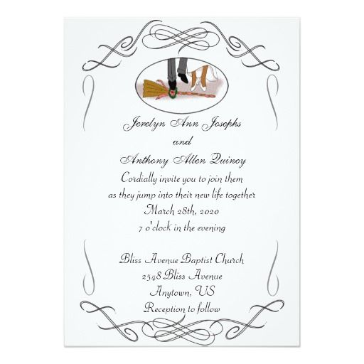 255 best african american wedding invitations images on pinterest, Wedding invitations