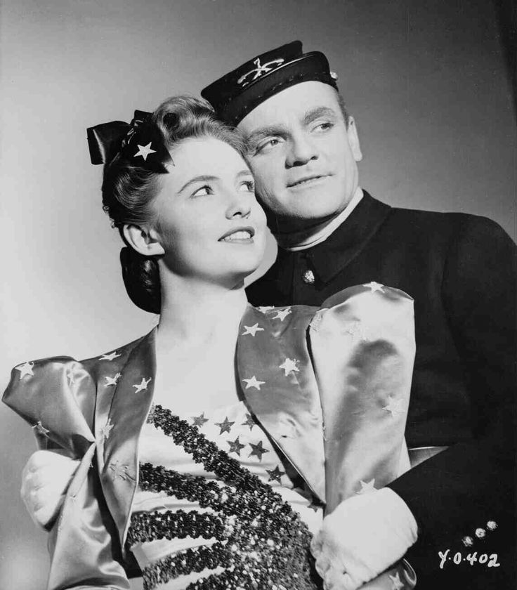 Yankee Doodle Dandy 1943 James Cagney and Joan Leslie