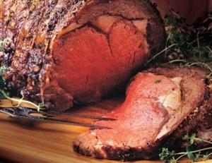 Peppered Rib Roast