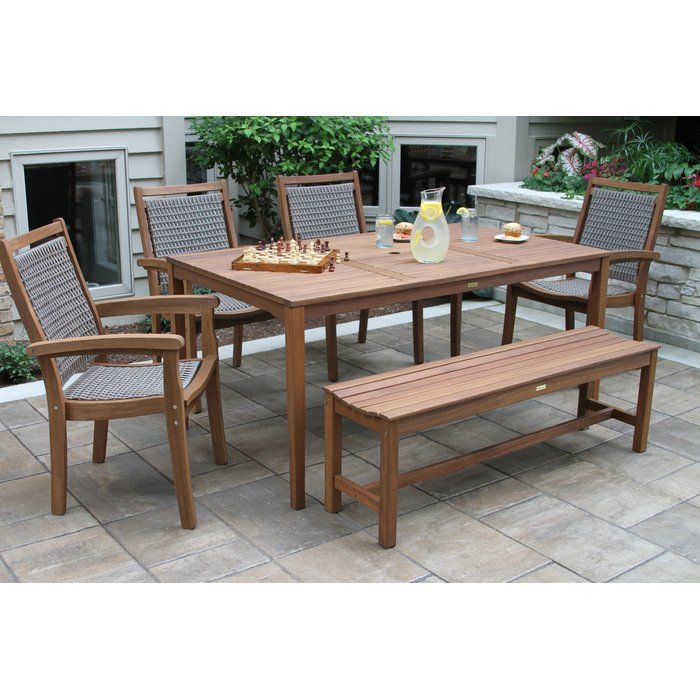 Rhett 6 Piece Dining Set Reviews Birch Lane Patio Dining Set Wicker Dining Set 7 Piece Dining Set