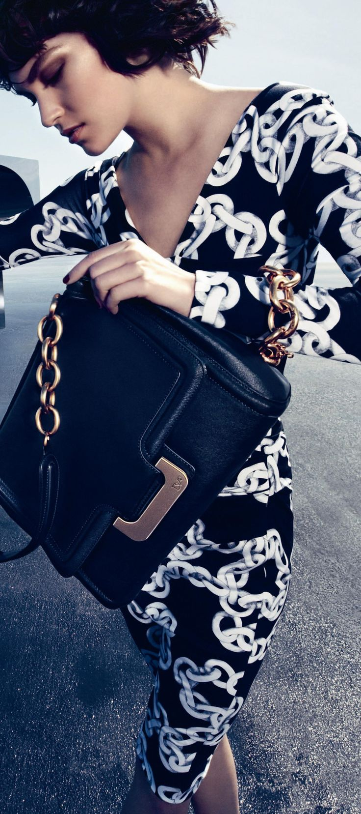 DVF style ♥✤ | Keep the Glamour | BeStayBeautiful