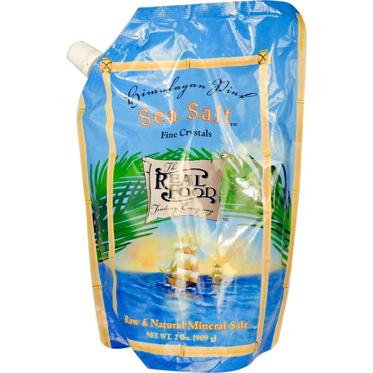 Fun Fresh Foods, The Real Food Trading Company, Himalayan Pink Sea Salt, 2 lbs (909 g)
