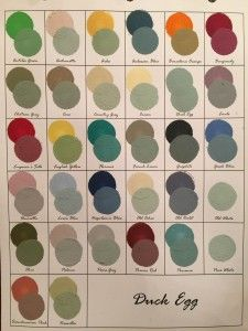 Mixing Colors With Chalk Paint®   961 Samples - all the annie sloan color mix combos - swoon