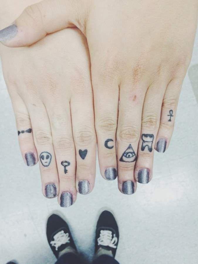 Small Tattoos on Finger Designsmag