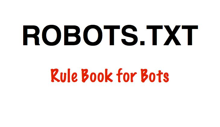 Instruction to crawl the website will be given in the file named as robots.txt. This file should be placed in the root folder of installation directory...