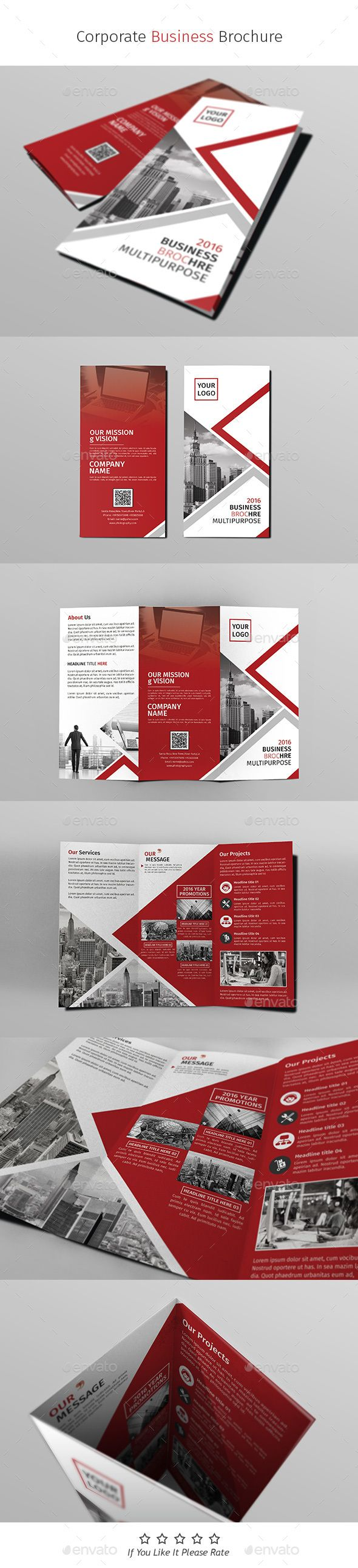 A4 Corporate Business Flyer Template PSD #design Download…