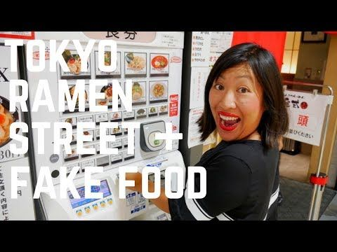 VIDEO! Where can you find 8 ramen restaurants all under one roof? TOKYO RAMEN STREET in Tokyo Station. Check out our video...| Tokyo travel vlogs | Food and Travel Channel