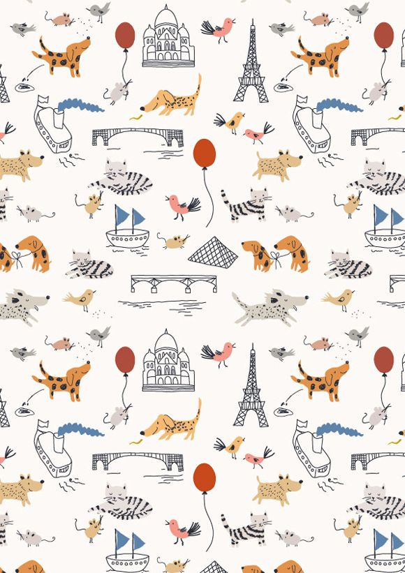 Little Cube, the brainchild of Paris-based illustrator and designer Sarah Betts is about playful wallpaper and other textiles for children and their dreams—the next best thing to having an illustrated storybook on their nursery or bedroom walls.