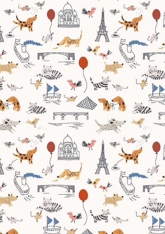 Sarah Betz de Little Cube, illustratrice et designer textile
