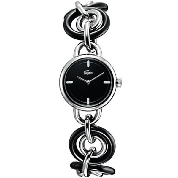 Ρολόι Lacoste Black Dial Steel Bracelet