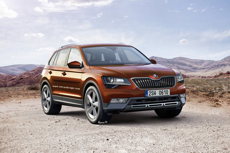 Skoda SUV 7-Seater - RM.Design | Photoshop renderings by Remco Meulendijk