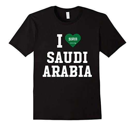 I Heart Love Saudi Arabia Flag Of Native Pride T-Shirt