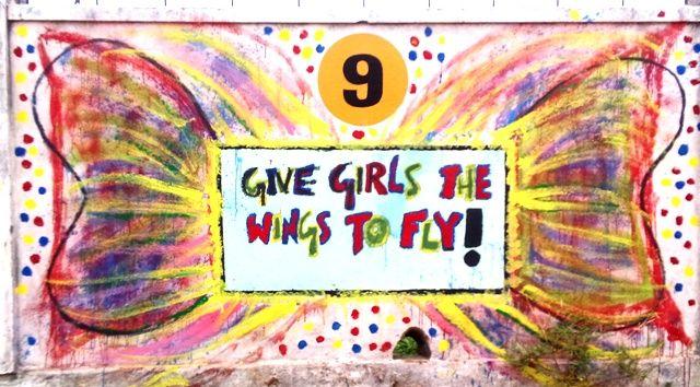 INDIA: #DayOfTheGirl Celebrating Girlhood With Murals In School - World Moms BlogWorld Moms Blog