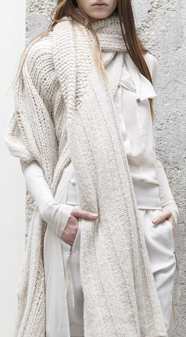 layers in off-white...