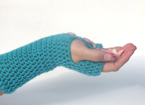 Long Crochet Fingerless Arm Warmers Wool by AGirlNamedMariaDK #wrist #arm #hand #warmers #crochet #crocheted #fingerless #gloves #mittens #mitten #glove #winter #fall #autumn #fashion #accessories