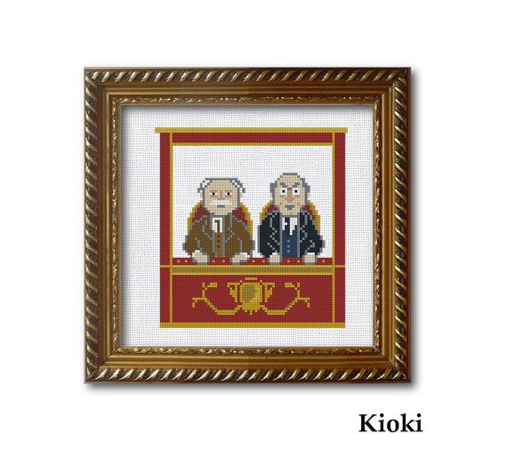 Cross Stitch Pattern From the balcony Instant Download