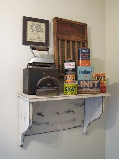 ~Yesterday Once More~: fun laundry room display