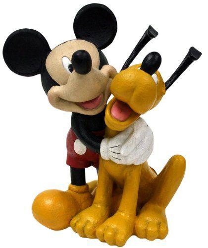 Mickey And Pluto Statue Disney Items I Want Pinterest